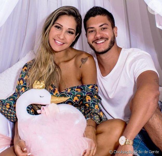 Arthur Aguiar fala sobre o estado de saúde da ex-mulher, Mayra Cardi