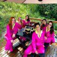 Andressa Suita fez viagem com amigas para comemorar aniversário de 33 anos