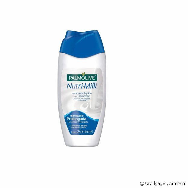 Sabonete liquído Nutrimilk, da Palmolive