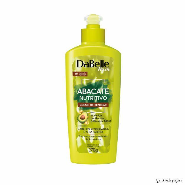 Creme para pentear da linha Abacate Nutritivo, de Dabelle Hair