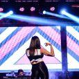 Anitta fez passos e coreografias ousadas durante a premiação