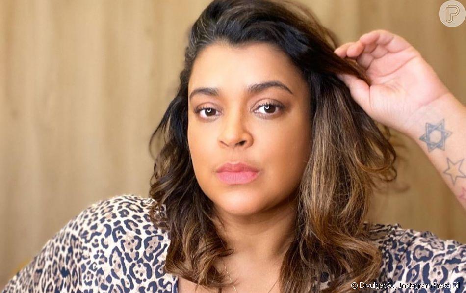Preta Gil criticou a postura de alguns participantes que, segundo ela, não deram atenção ao show de Daniela Mercury no 'BBB21'