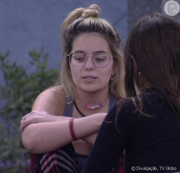 'BBB 21': Viih Tube critica postura de Carla Diaz no reality. 'É oportunista'