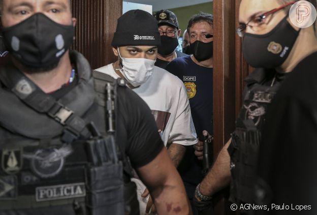 Gabigol, de acordo com informações da Polícia, teria tentado se esconder