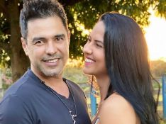 Graciele Lacerda chora com homenagem de Zezé Di Camargo ao pai. Veja