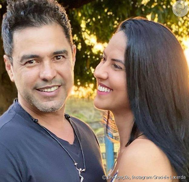 Graciele Lacerda chorou com a homenagem que Zezé Di Camargo fez ao pai na TV