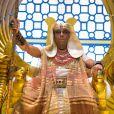 Novela 'Gênesis': marido de Khen (Pérola Faria) e Aat (Bianka Fernandes), o faraó Amenemhat III (André Ramiro) se apaixona por Sarai (Adriana Garambone)