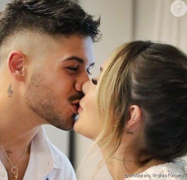Virgínia Fonseca exibiu novas fotos do casamento com Zé Felipe; cerimônia foi realizada em 26 de março de 2021