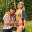 Virgínia Fonseca mostrou que a filha, pela ultrassonografia, se parece muito com a mãe de Zé Felipe
