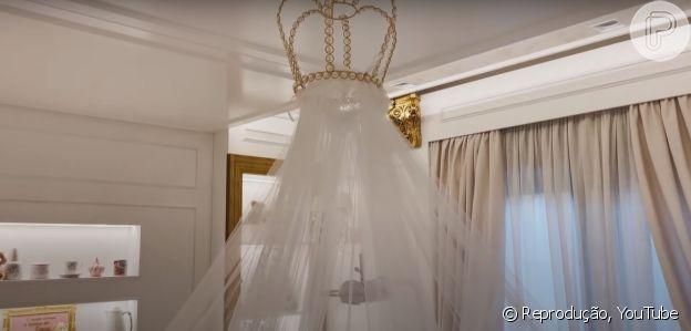 Veja fotos do 'quarto de princesa' de Zaya, filha de Simone