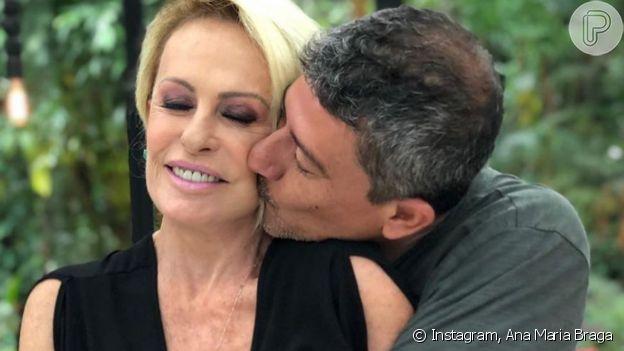 Ana Maria Braga ao lado de Tom Veiga, responsável por dar vida ao Louro José por quase 25 anos