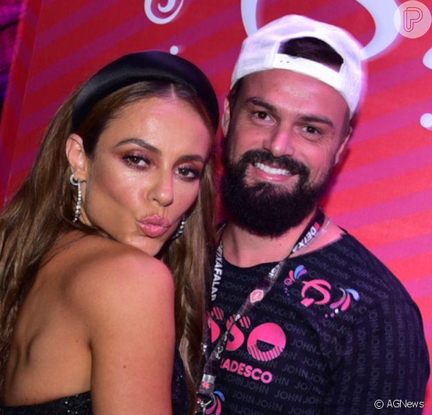 Paolla Oliveira ganhou declaração do namorado, Douglas Maluf, em seu aniversário, nesta quarta-feira, 14 de abril de 2021: 'Que seja o início de um novo ciclo repleto de coisas lindas'