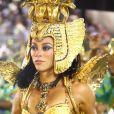 Paolla Oliveira está confirmada como rainha de bateria da Grande Rio no próximo carnaval