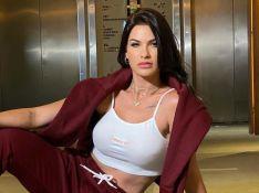 Andressa Suita mostra treino pesado e brinca com caretas: 'Botox indo embora'