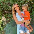 Patricia Abravanel é mãe de Senor, 2 anos