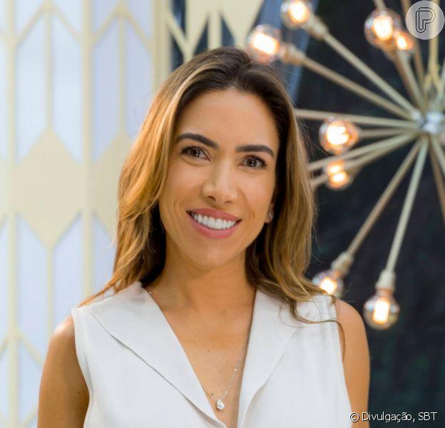 Patricia Abravanel promoveu piquenique para os três filhos