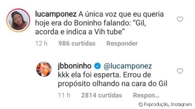 Boninho opina sobre Prova do Líder vencida por Gilberto