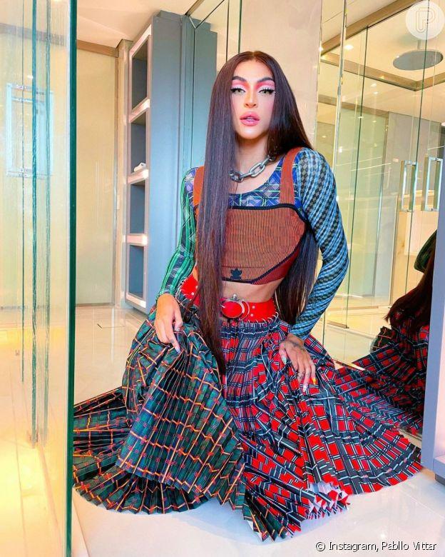 Inspire-se na moda de Pabllo Vittar no outono/inverno 2021