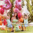 Os filhos de Andressa Suita e Gusttavo Lima têm 2 e 3 anos