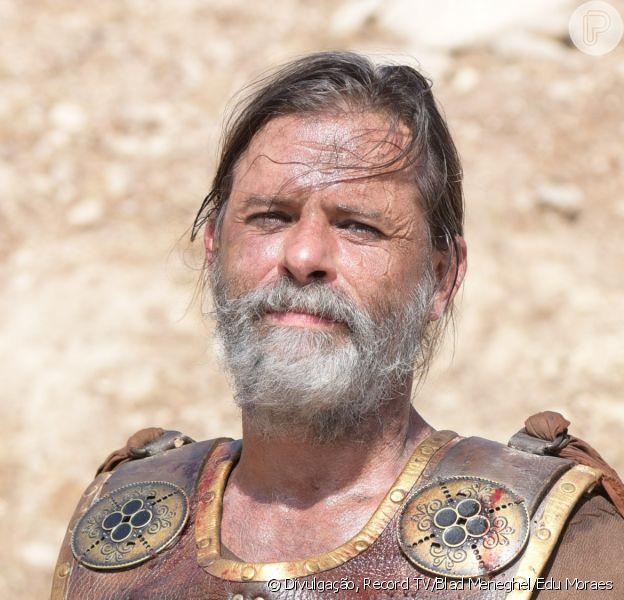 Na novela 'Gênesis', Massá (Marcos Winter) reaparece ao ser dado como morto