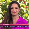 Juliette, campeã do 'BBB21', foi convidada por Ana Maria Braga para tomar café no 'Mais Você'