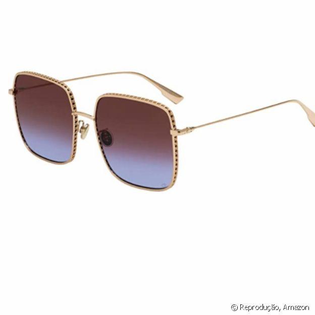 Os óculos oversized da Dior estão disponíveis na Amazon