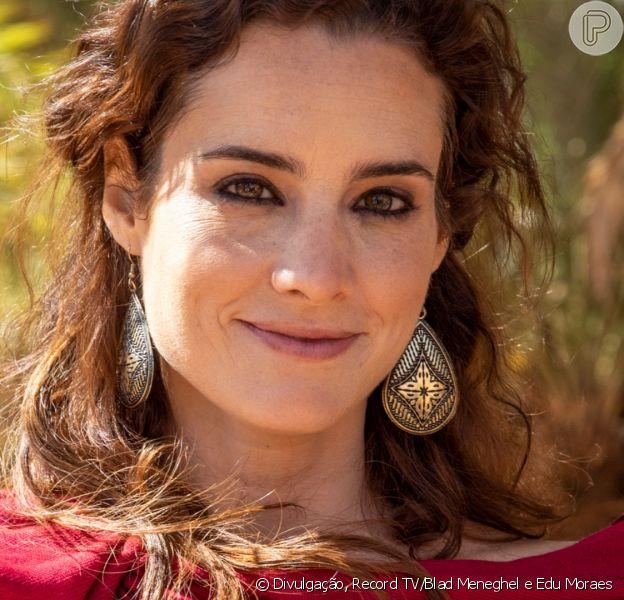 Novela 'Gênesis': Ayla (Elisa Pinheiro) se transforma em estátua de sal