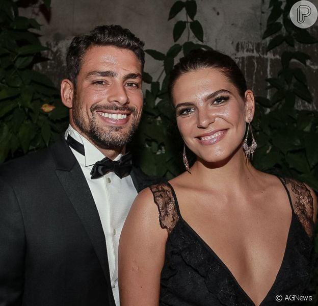 Mariana Goldfarb não se incomoda com parceria de Cauã Reymond e a ex, Alinne Moraes, em trabalho