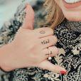 Marília Mendonça tatuou o nome do filho na mão