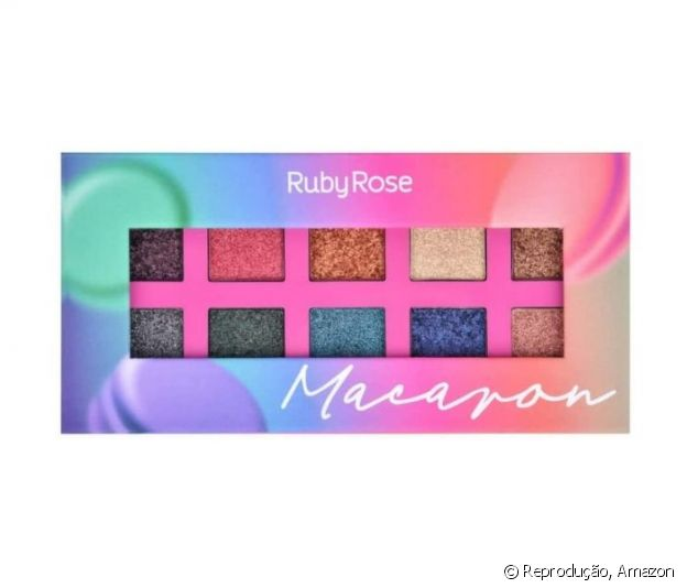 Paleta De Sombras Macaron, Ruby Rose