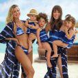 Vicky, filha de Ana Paula Siebert e Roberto Justus, adora companhia das irmãs