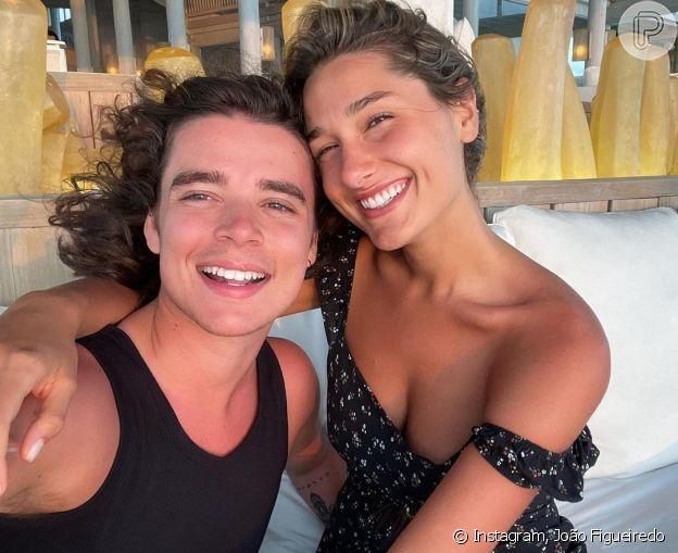 Marido de Sasha, João Figueiredo comemorou primeiro Dia dos Namorados após o casamento