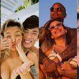 Casais de famosos comemoram Dia dos Namorados na web