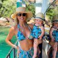 Ana Paula Siebert adora combinar looks com a filha