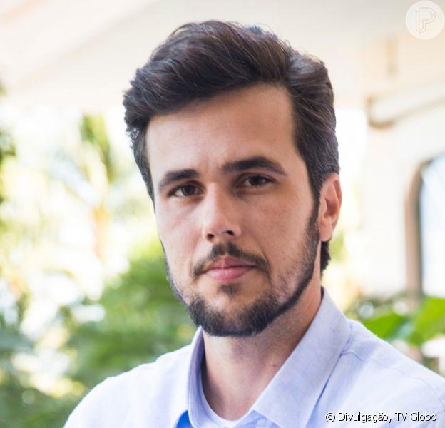 Novela 'Salve-se Quem Puder': Rafael (Bruno Ferrari) dá fora em Kyra (Vitória Strada) ao descobrir que a ex-noiva está viva