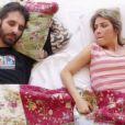 Luiza Possi tenta matar Rafinha Bastos por várias vezes no clipe 'Dois Perdidos'