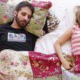 Rafinha Bastos participa do novo clipe de Luiza Possi, 'Dois Perdidos'