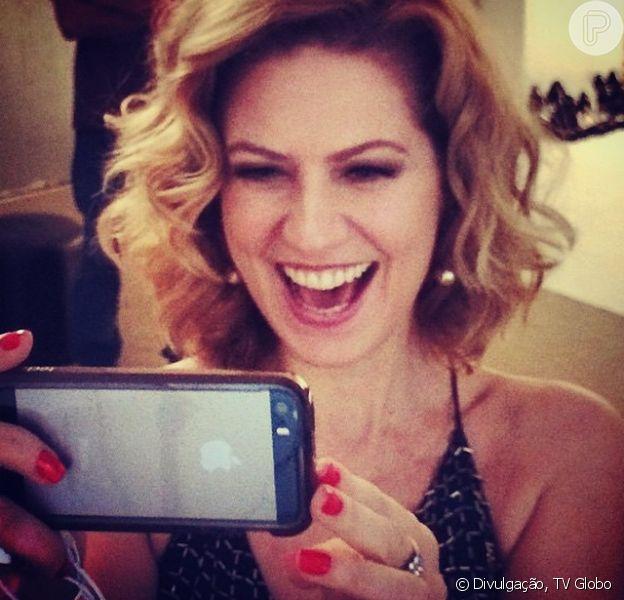 Patricia Pillar é elogiada por Cauã Reymond em post no Facebook, em 19 de novembro de 2014: 'Está linda'