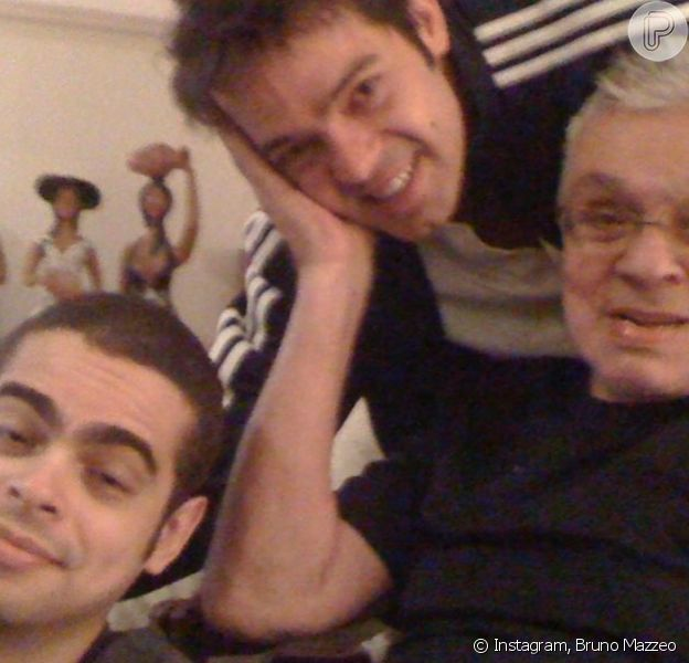 Morre Cícero Chaves, irmão de Bruno Mazzeo e filho de Chico Anysio, aos 39 anos