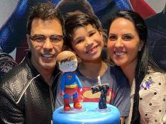 Zezé Di Camargo e Graciele Lacerda comemoram aniversário do filho de Wanessa com festa