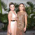 Mirella Santos e Sabrina Sato no casamento do Carioca 'Pânico'