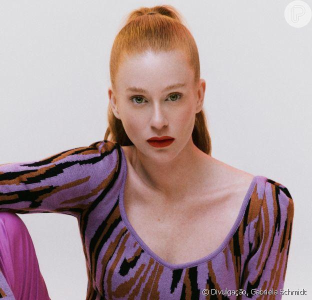 Marina Ruy Barbosa 'vira' modelo da Ginger e analisa 1º ano de sua marca: 'Surpreendente'