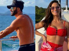 Discretos na web, Gusttavo Lima e Andressa Suita são flagrados juntos por fãs. Veja!