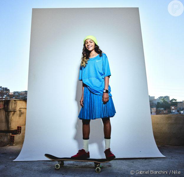 Rayssa Leal participa de campanha global da Nike