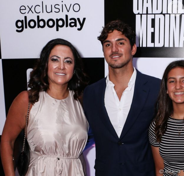 Mãe de Gabriel Medina não falou sobre o filho nas Olimpíadas nas redes sociais