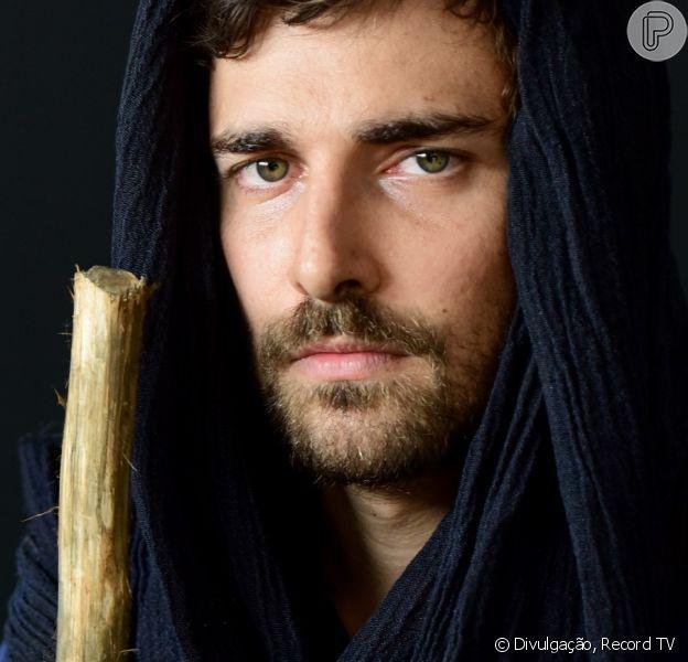 Novela 'Gênesis': Jacó (Miguel Coelho) vai dar fora em Bila (Allana Lopes). 'Não é minha mulher. É serva'