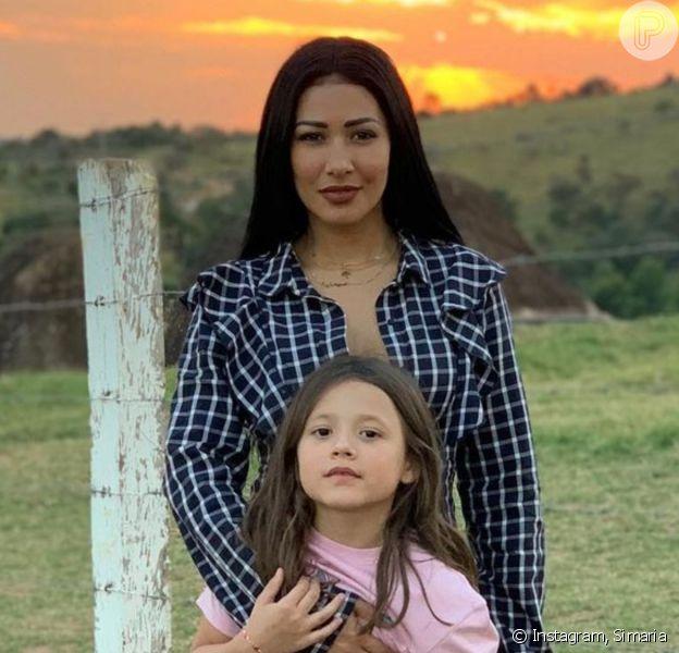 Simaria, dupla de Simone, festejou os 9 anos da filha, Giovanna: 'Menina tão doce, inteligente, divertida, linda, e gentil'