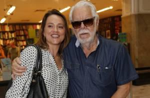 Após perder o filho caçula, Manoel Carlos prestigia evento de cinema no Rio
