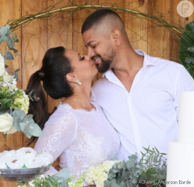 Viviane Araujo vai dar festa para comemorar casamento com o empresário Guilherme Militão