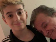 Fábio Jr. e filho caçula, Záion, impressionam por semelhança em fotos: 'Xerox'